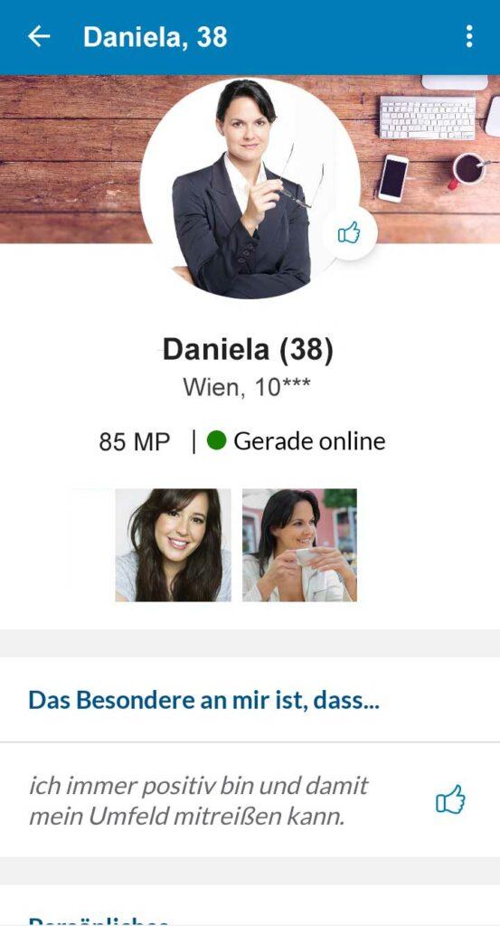 Profil Elitepartner App
